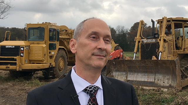 Interview with Kurt Heumann, CEO, UnitedHealthcare Medicare & Retirement in Missouri at groundbreaking ceremony (Video: Kevin Herglotz).
