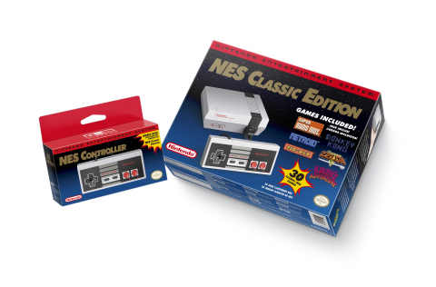 The '80s are totally back and Nintendo is totally embracing them with the Nov. 11 launch of the Nintendo Entertainment System: NES Classic Edition system, which includes 30 classic NES games such as Super Mario Bros., Metroid, Donkey Kong, The Legend of Zelda, Kirby's Adventure and PAC-MAN. (Photo: Business Wire)