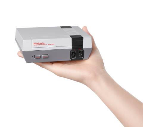The stocking-sized console launches on Nov. 11. (Photo: Business Wire)