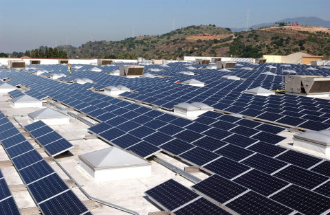Sourcing fifty percent of Walmart's energy needs through renewables. (Photo: Business Wire)
