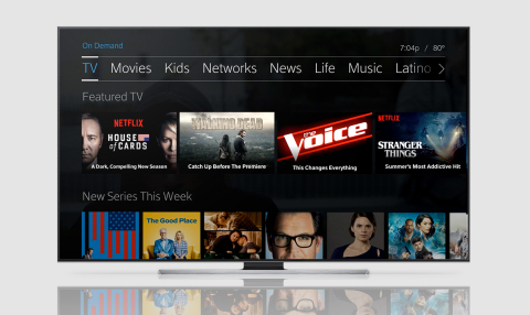 Netflix content will be fully integrated into Comcast's X1 platform, enabling customers to seamlessly access movies and TV shows from both Netflix and Xfinity, all in one place. (Photo: Business Wire)