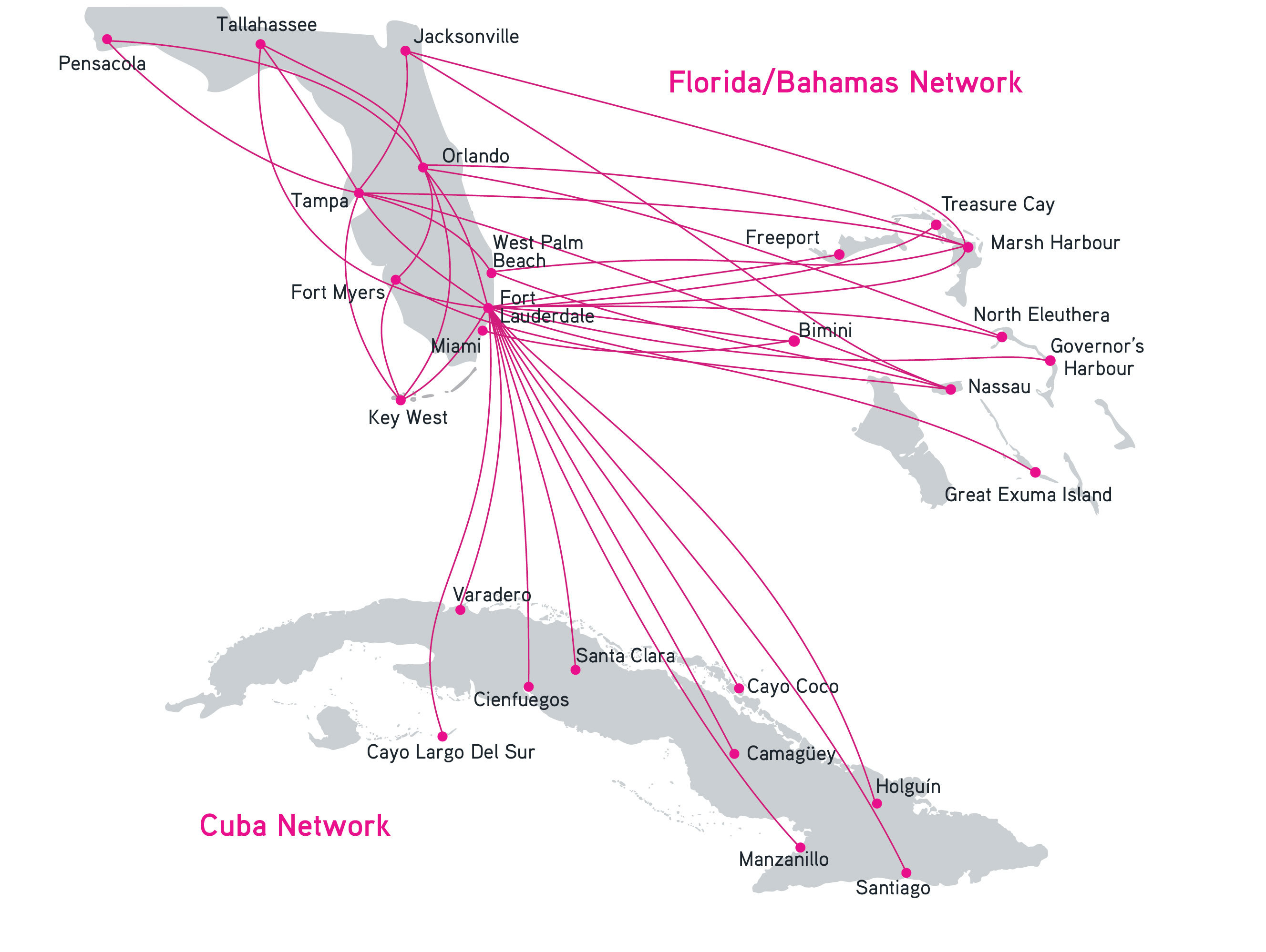 Administrative Map Of Cuba Nations Online Project US And Cuba Map - Us airways travel map
