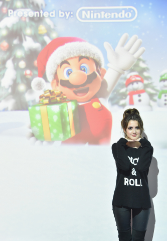 Laura Marano, actress and recording artist, hosts the Nintendo 3DS Girls Gaming event on November 5, 2016 at Lightbox in New York City. (Photo: Business Wire)