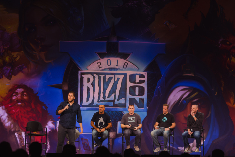 BlizzCon panels feature the latest news on Blizzard games for attendees. (Photo: Business Wire)