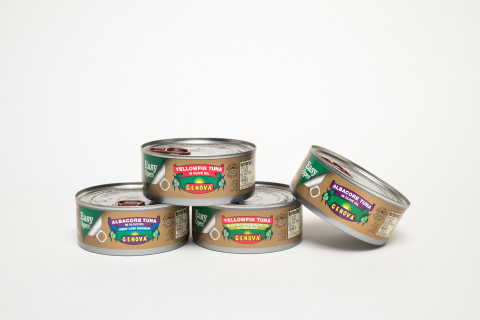 Genova Seafood offers Easy-Open Cans for greater ease and convenience. (Photo: Business Wire)