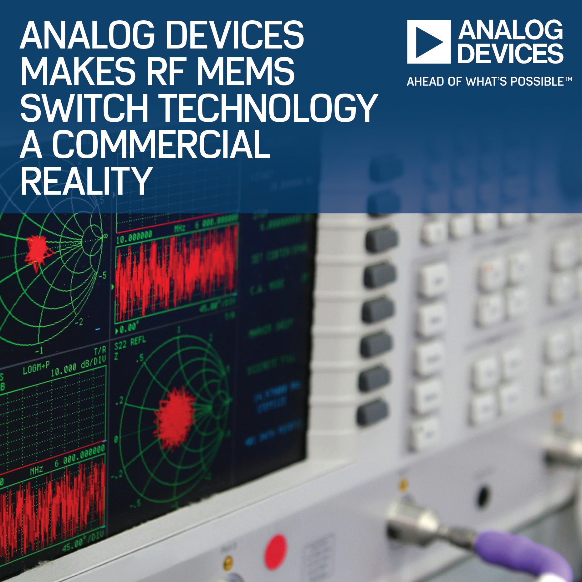 Analog Devices Makes MEMS Switch Technology a Commercial Reality (Photo: Business Wire)