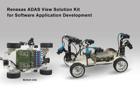 Renesas Electronics All-in-One ADAS View Solution Kit for Surround View (Photo: Business Wire)