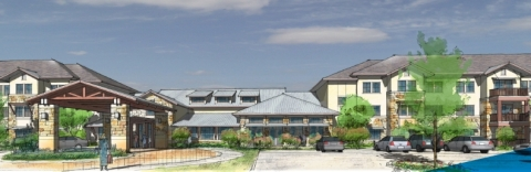Rendering of The Delaney at Georgetown Village in Texas (Graphic: Business Wire)