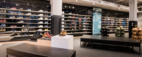 Nike Soho Features The SNKRS Experience A 54 Foot Wide Dual Gender