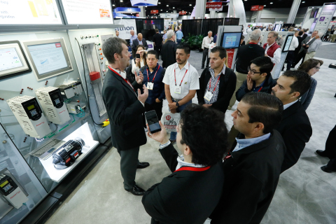 More than 10,000 industrial professionals are attending the 25th annual Automation Fair event in Atl ...