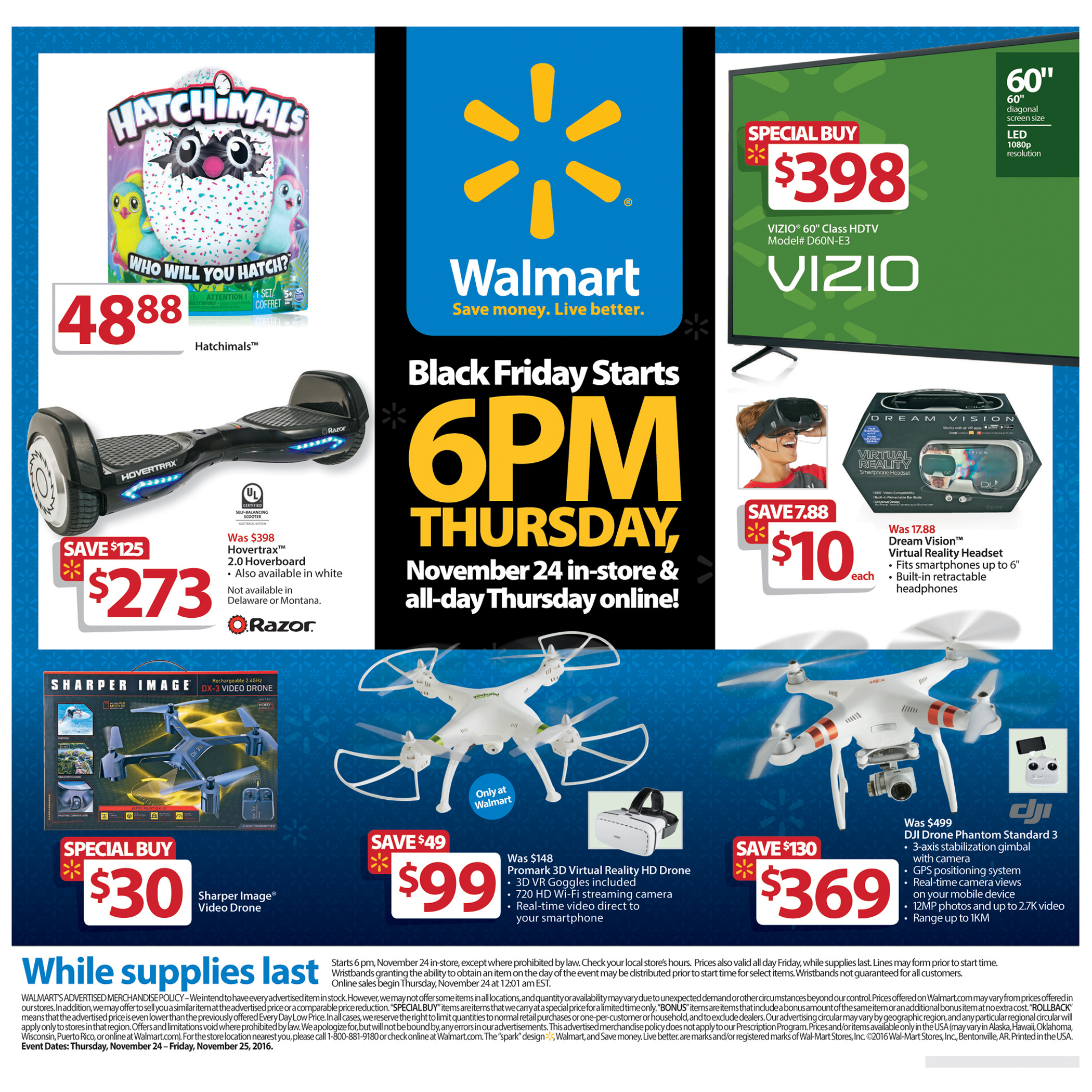 Walmart Unveils Black Friday 2016 Plans Great Deals More Availability Business Wire
