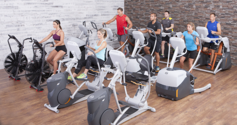 Relentlessly fueled to reinvent zero-impact cardiovascular exercise, Octane Fitness introduced two new commercial standing ellipticals and upgraded LateralX® elliptical and xR6000 recumbent elliptical. (Photo: Business Wire)