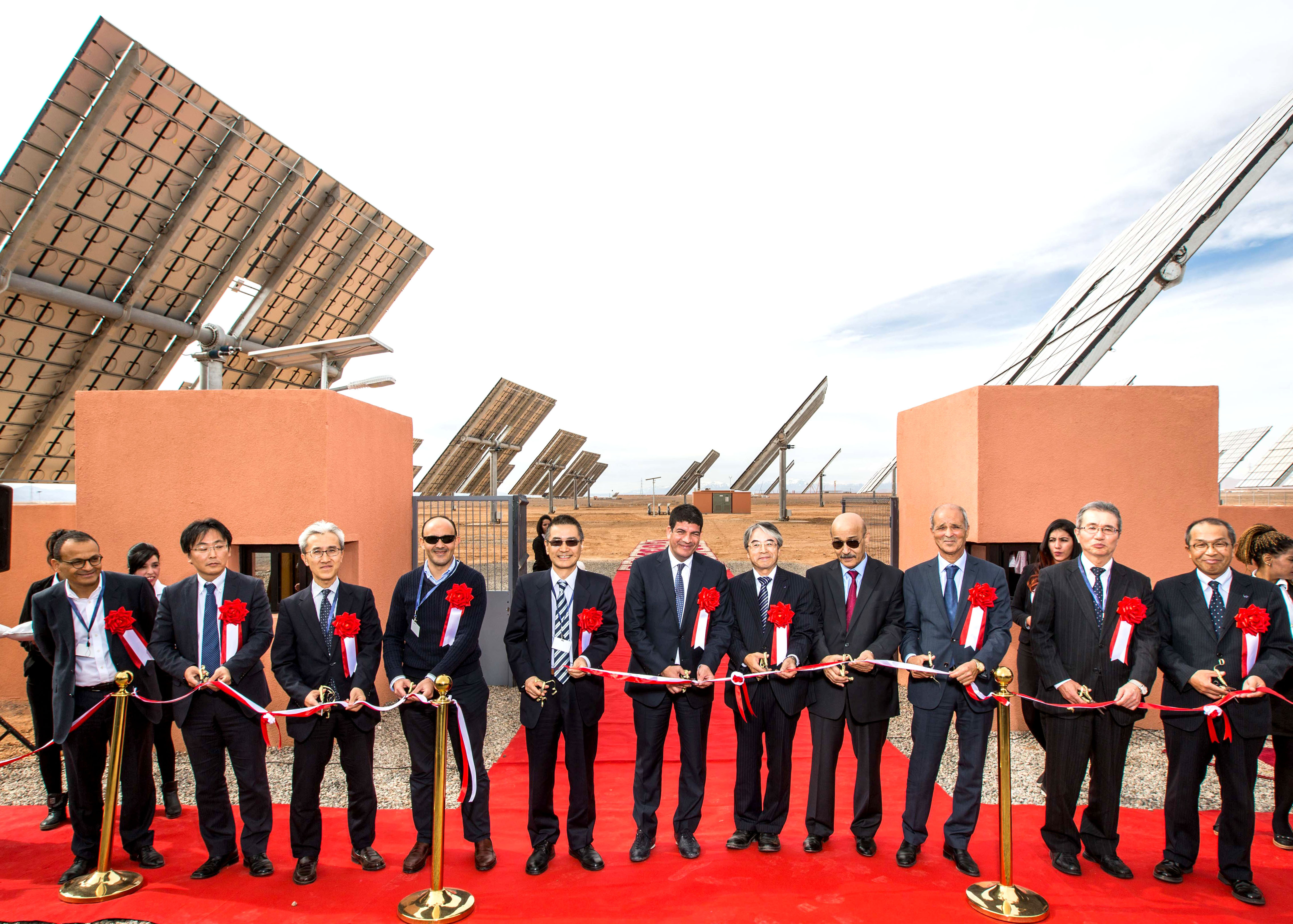 Sumitomo Electric Starts Operation of Concentrator Photovoltaic