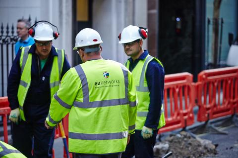 euNetworks Fibre in London (Photo: Business Wire)