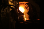 First gold poured at Newmont's Long Canyon mine in Nevada (Photo: Business Wire)