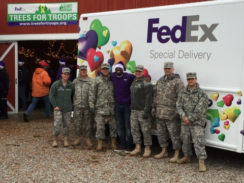 Since the Trees for Troops program launched in 2005, FedEx has shipped more than 176,000 real Christ ...