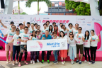 MetLife Hong Kong Promotes Hereditary Cancer Awareness with Sponsorship of Pink Heels Race 2016 (Photo: Business Wire)