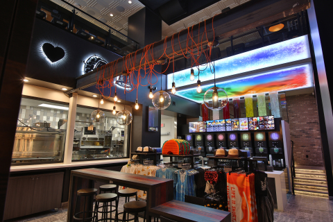 Las Vegas becomes the fourth Taco Bell Cantina restaurant to open, following Wicker Park Chicago, SOMA San Francisco and Austin, and the first of its kind to offer 24-hour service. (Photo: Business Wire)
