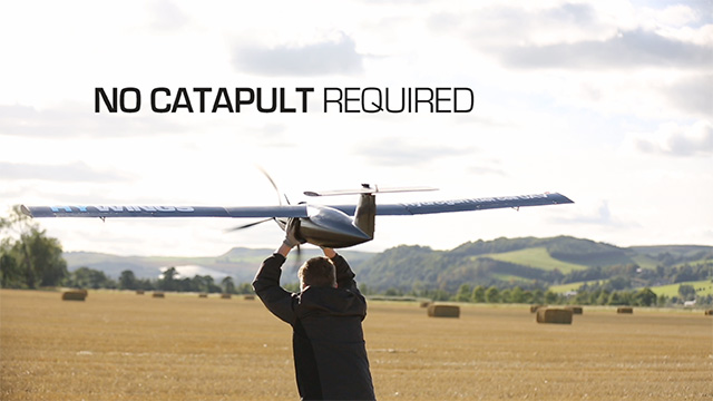 HYWINGS hydrogen fuel cell UAV is capable of 10 hour flights.
