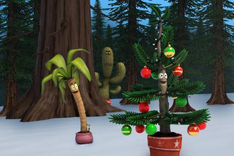 L-R: Maisie, Gene, Cactus Pete, and Albert in Nickelodeon's TV movie, Albert. (Photo: Business Wire)