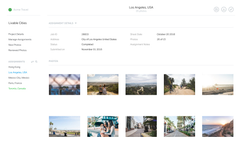 """500px for Business clients can get hundreds to thousands of custom images in days or weeks. They can then easily view the images photographers in many locations have created per the creative brief."" (Graphic: Business Wire)"