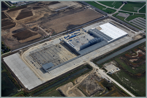 IKEA Planning Illinois' Largest Solar Rooftop on Distribution Center under Construction in Joliet (Photo: Business Wire)