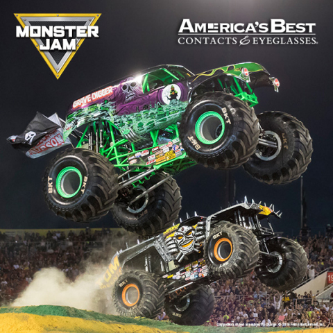 America s best contacts eyeglasses named official for Monster contact