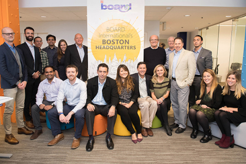 BOARD International Announces Co-located Headquarters in Boston, MA and Chiasso, Switzerland