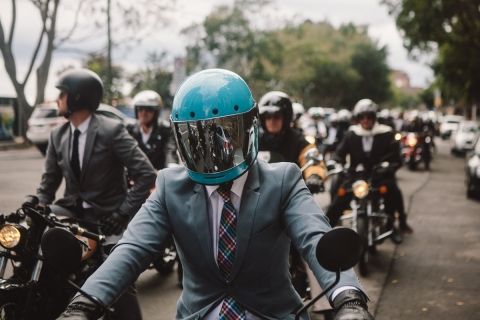 Gentleman's Ride sponsored by Moto-tyres.co.uk is a success (Photo: Business Wire)