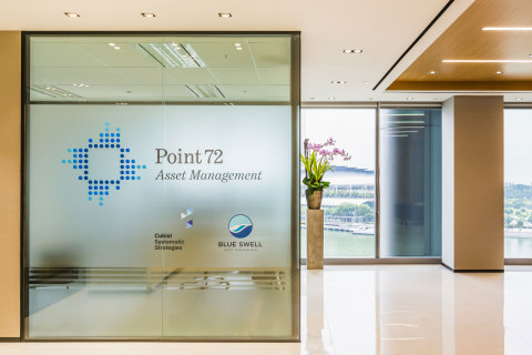 Point72 Doubles Office Space in Singapore's OUE Bayfront; Affirms Commitment to Hiring Region's Top Talent (Photo: Business Wire)