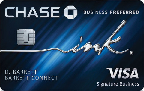 Chase Ink Business Preferred card (Photo: Business Wire)