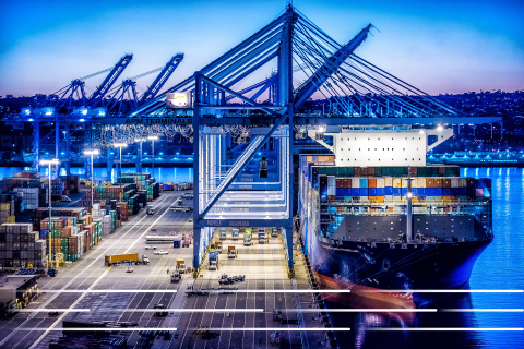 Port of Los Angeles and GE Transportation (Photo: GE)