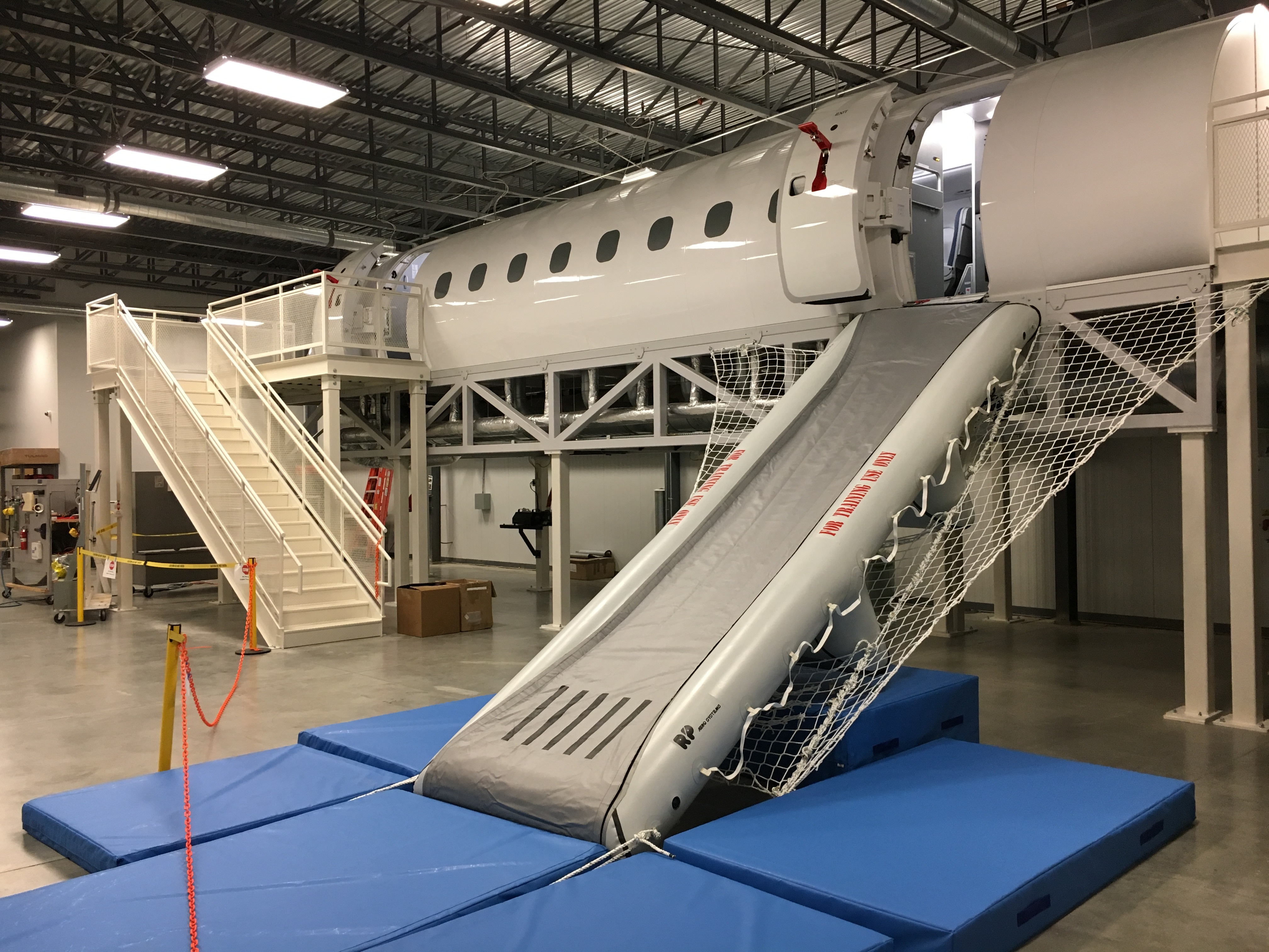 Astounding Republic Airways Installs New Industry Leading Cabin Trainer Cjindustries Chair Design For Home Cjindustriesco