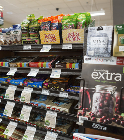 Raley's Healthy Check Stand (Photo: Business Wire)