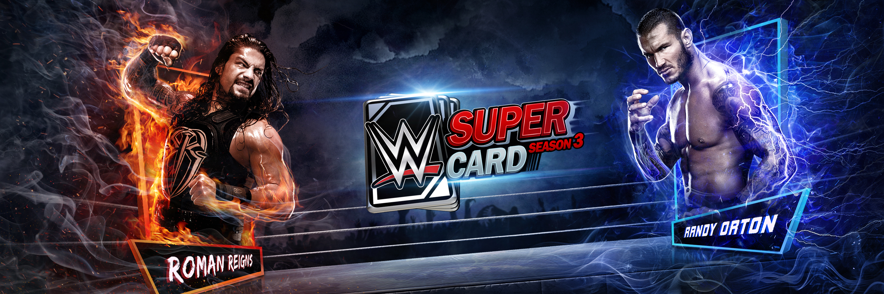 WWE® SuperCard – Season 3 Now Available for iOS and Android Devices