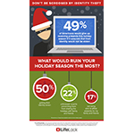 What would ruin your holiday season the most? (Graphic: Business Wire)