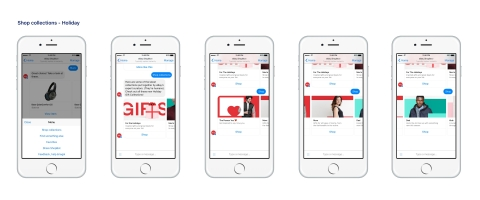 For even more customized gift recommendations, eBay recently introduced eBay ShopBot beta – a personalized shopping assistant on Facebook Messenger. (Photo: Business Wire)