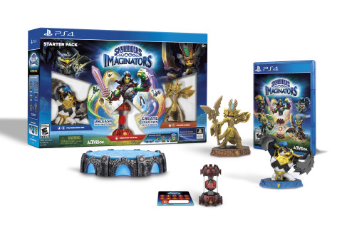 "The innovative kids' videogame Skylanders® Imaginators lets players create their own Skylanders for the first time and is a ""must-have"" gift for kids this holiday season! (Photo: Business Wire)"