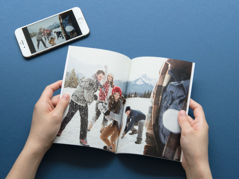 TOLOT's high-quality photobooks made from smartphone photos will be available at the low price of $5.99. (Photo: Business Wire)