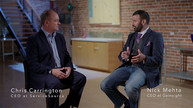 ServiceSource CEO Christopher M. Carrington and Gainsight CEO Nick Mehta discuss the growing importance of Customer Success and their new joint solution Outcome360.