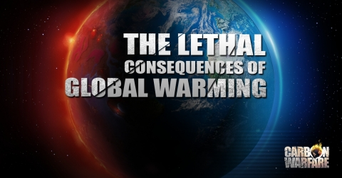 """Provocative Global Warming Simulation Game """"Carbon Warfare"""" Launches on IOS and Android (Graphic: Business Wire)"""