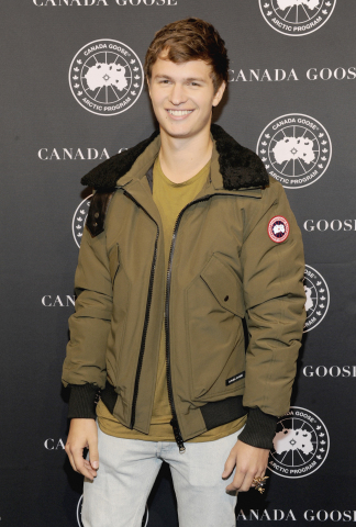 Ansel Elgort celebrated Canada Goose's U.S. flagship store opening in New York City on November 16th (Photo: Business Wire)