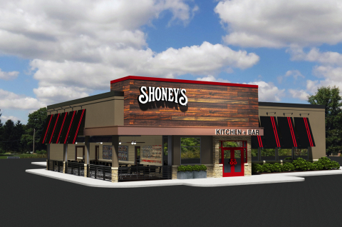 Shoney's unveils its latest restaurant design prototype which will debut in Donelson, Tenn. in early 2017. (Photo: Business Wire)