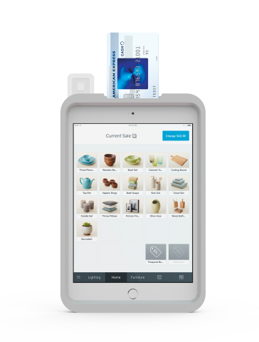 New L7 Case with Square Contactless Chip Reader Ideal for Mobile Payments (Photo: Business Wire)