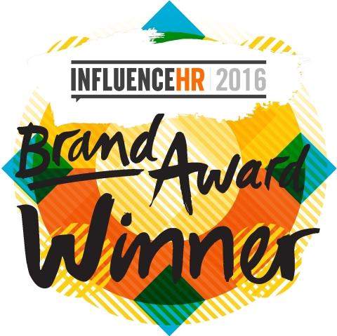 2016 InfluenceHR Brand Velocity Award (Photo: Business Wire)