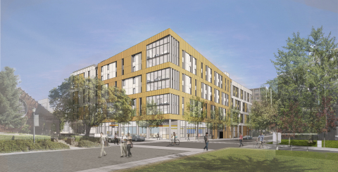 American Campus Communities and University of California, Berkeley break ground on student housing project (Photo: Business Wire)