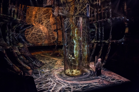 """Intel, the Royal Shakespeare Company and the Imaginarium Studios collaborate on a ground-breaking production of Shakespeare's """"The Tempest,"""" incorporating the most cutting-edge technology. This unique performance is the latest example of what's possible when Intel technology meets peoples' passion for telling stories with great artistry. (Credit: Intel Corporation)"""