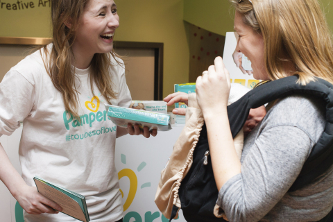On World Prematurity Day, November 17, Pampers hosted an event at the Children's Museum of Manhattan ...