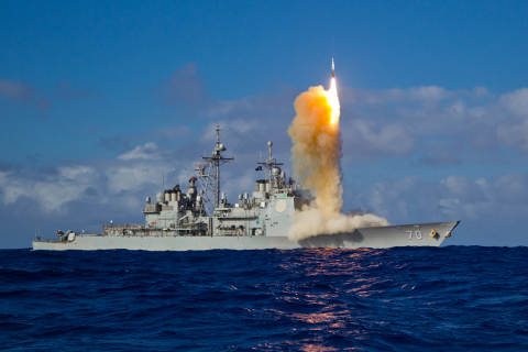 BAE Systems received a new contract to assist with the integration of U.S. Navy equipment, programs, and combat systems to enhance mission planning, research, and training. (Photo: Missile Defense Agency)