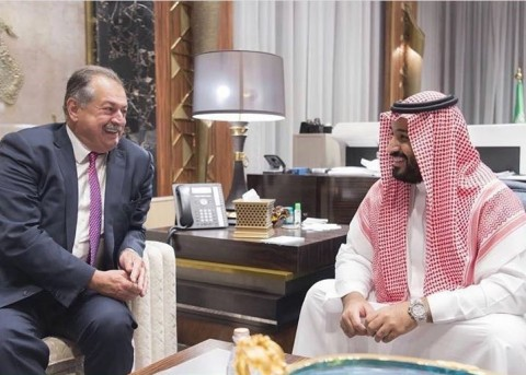 Andrew Liveris, Dow's Chairman and Chief Executive Officer, met with His Royal Highness, the Deputy  ...